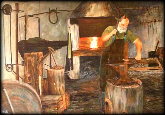 Hornok Magdolna: A nagyvázsonyi kovácsmester