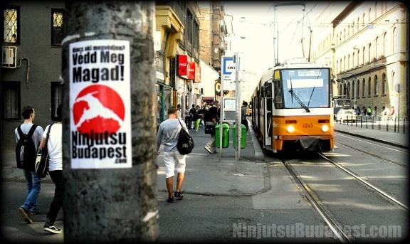 ninjutsu önvédelmi edzés budapesten