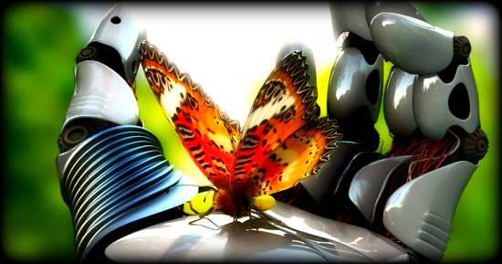 pillangó-robot butterfly