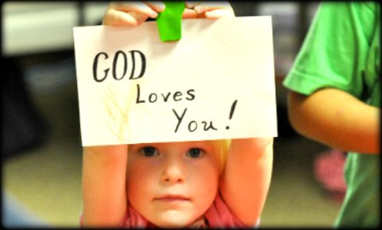 Isten szeret téged