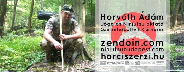 Horváth Ádám Jóga és Ninjutsu önvédelem oktató