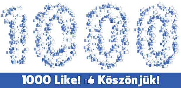 1000 like a harciszerzinek